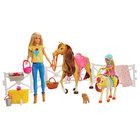 Barbie et Chelsea amies chevaux