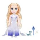 Poupée chantante Elsa 38 cm en robe violette La Reine des Neiges 2