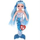 Flippables - Peluche sequins Indigo la sirène bleue