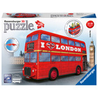 Puzzle 3D Bus londonien 216 pièces
