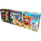 Coffret 3 jeux : Pique picnic - Fold It - Mission Escape