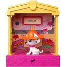 Figurine Dalmatien 7 cm et appartement à collectionner - Disney Les 101 Dalmatien