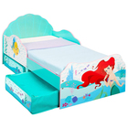 Lit pour enfant avec rangements - Ariel La Petite Sirène