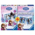 Memory et Puzzles La Reine des Neiges 2