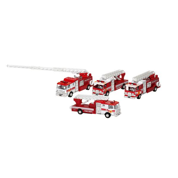 Camion de pompiers rétrofriction