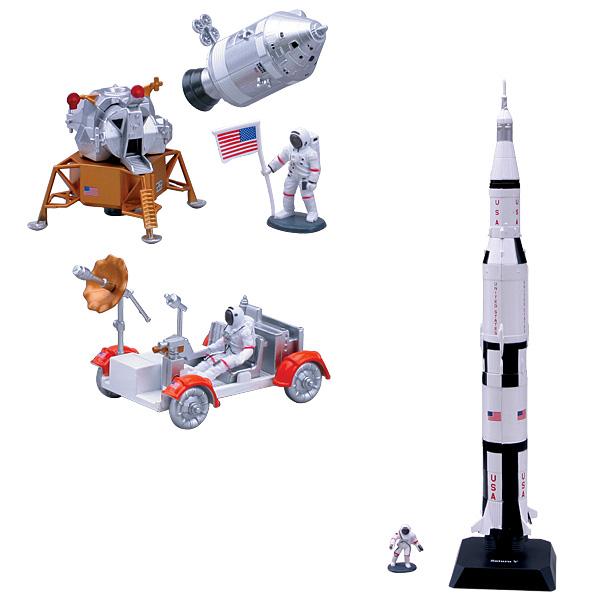 Véhicules spatiaux en kit assortiment
