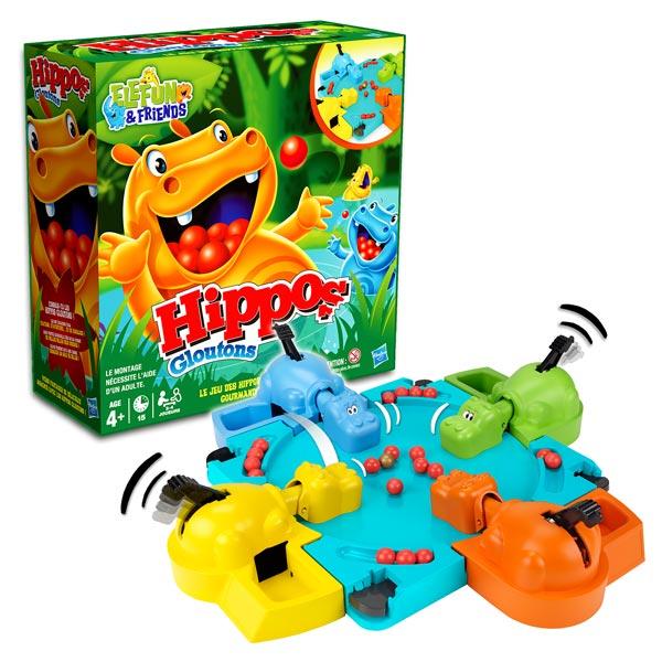 Jeu de société-Hippos gloutons