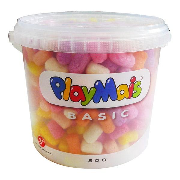 Playmaïs seau 5 litres rose