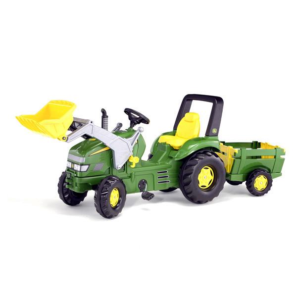 Tracteur à pédales Rolly X John Deere avec pelle