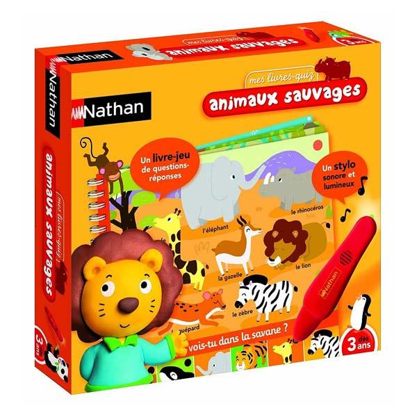 Jeu électronique livre animaux sauvages Nathan Jeux : King Jouet, Ordinateurs et jeux ...