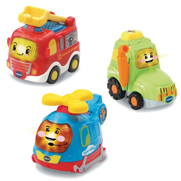 Tut-Tut Bolides Coffret trio Pompiers