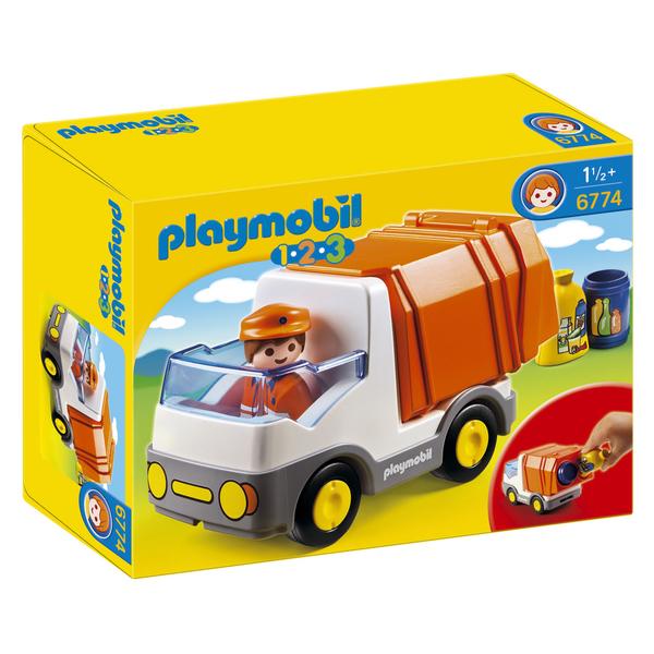 6774-Camion poubelle - Playmobil 1.2.3