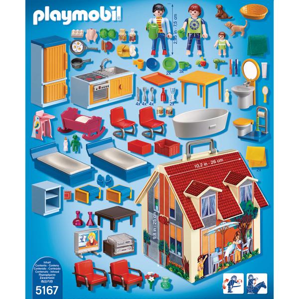 5167-Playmobil Dollhouse-Maison transportable