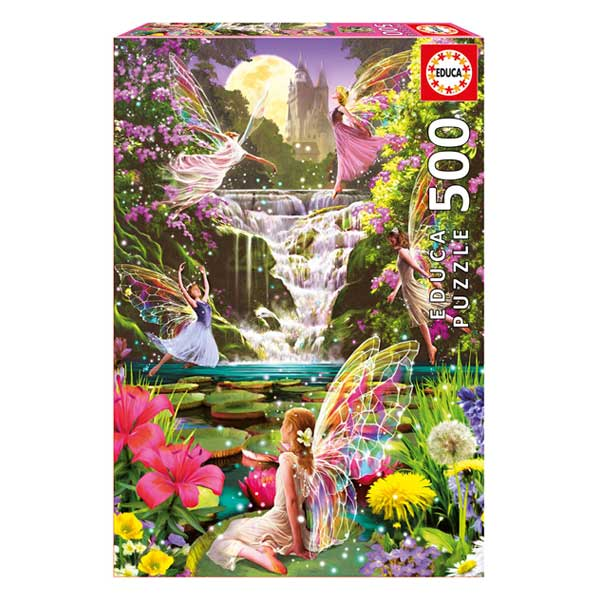 Puzzle 500 pièces la cascade des fées