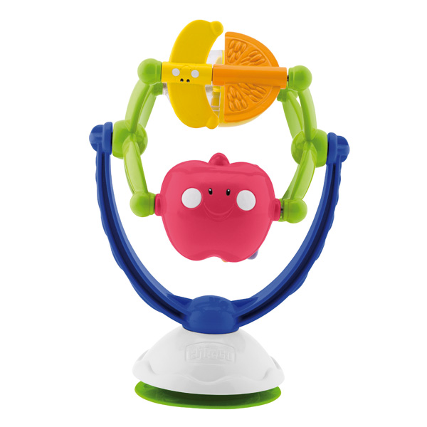 Hochet ventouse musical fruits