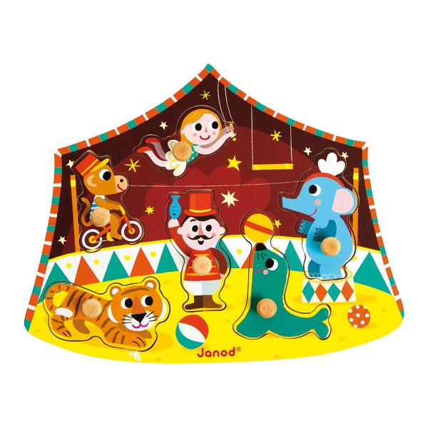 Puzzle cirque étoiles 6 pièces