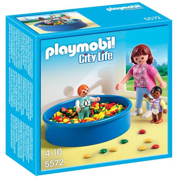 5572-Piscine à balles pour bébés - Playmobil City Life