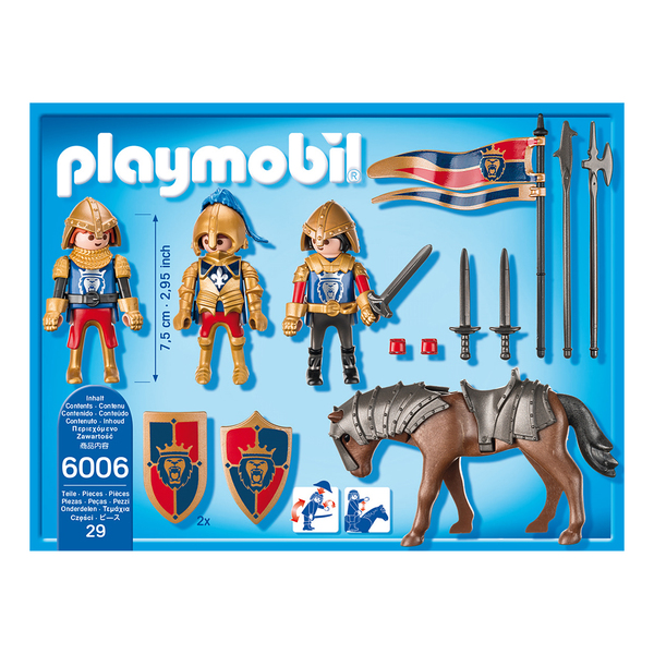6006 - Chevaliers du Lion Impérial - Playmobil Knights