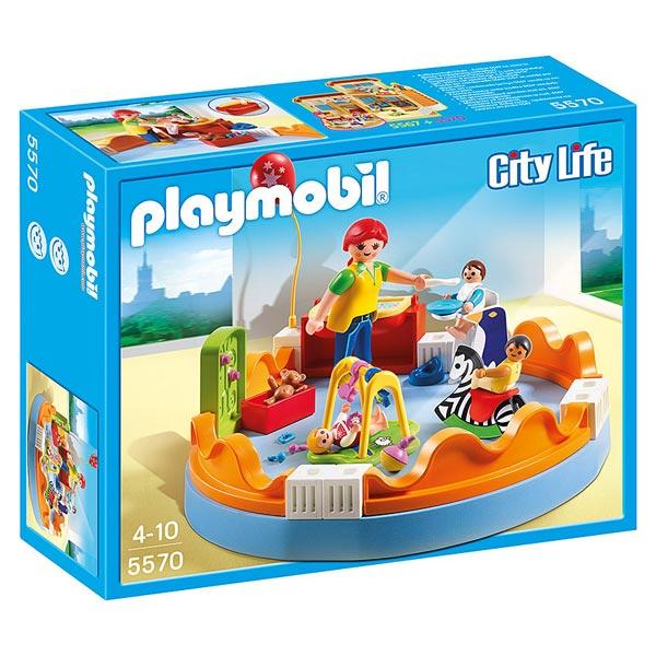 5570-Espace crèche avec bébés - Playmobil City Life