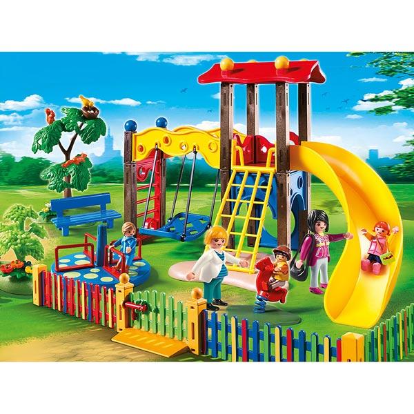 5568-Square pour enfants avec jeux - Playmobil City Life