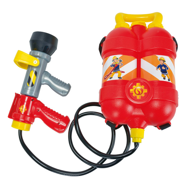 Sam le pompier-pistolet à eau réservoir à dos
