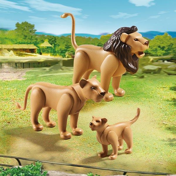 6642-Famille de lions  - Playmobil City Life