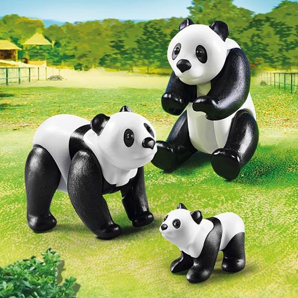 6652-Famille de pandas - Playmobil City Life