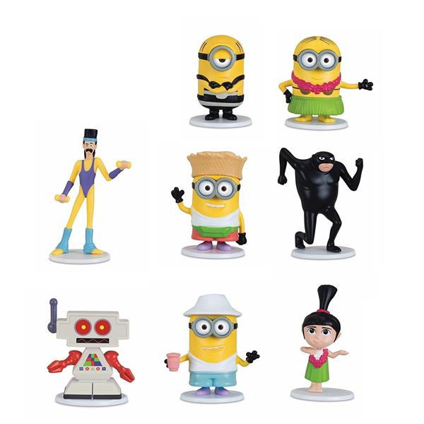 Minions coffret 8 figurines