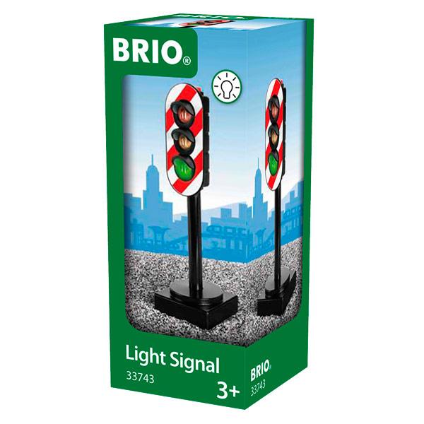 Brio 33743-Feux tricolores lumineux