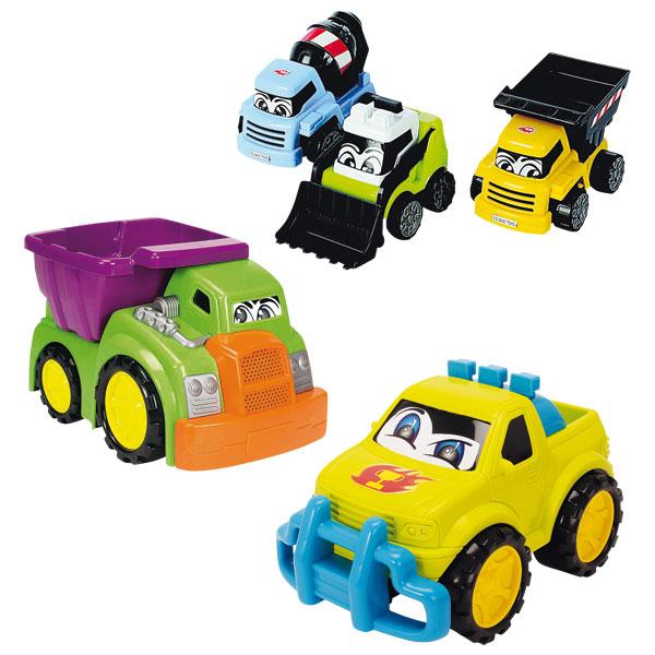 Coffret 5 Véhicules Happy Truck
