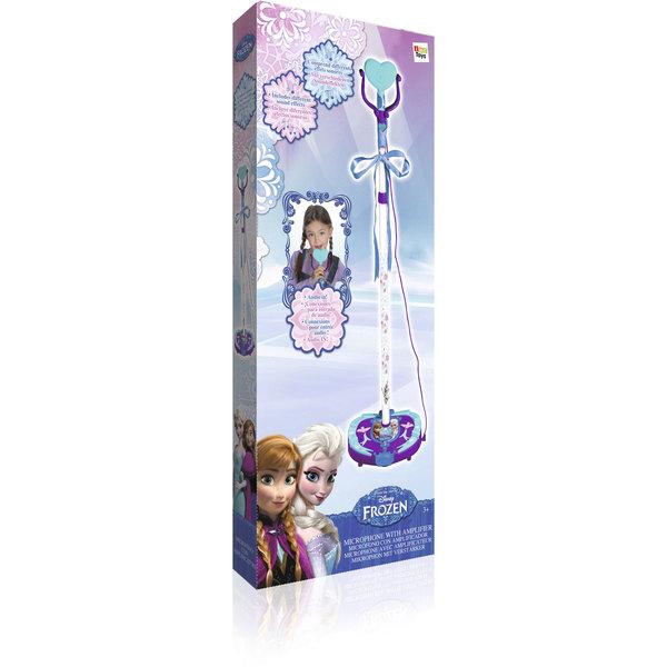 Micro sur pied avec amplificateur - Disney La Reine des Neiges