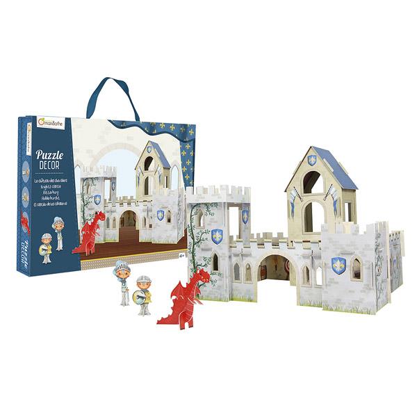 Puzzle décor-Château de chevaliers