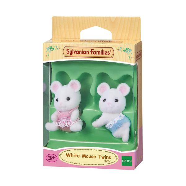 Jumeaux souris blanche Sylvanian