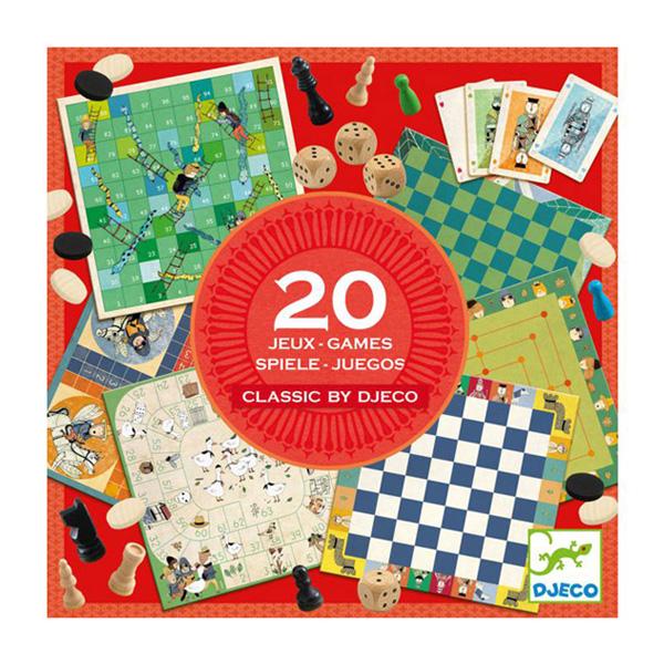 Coffret 20 jeux classiques