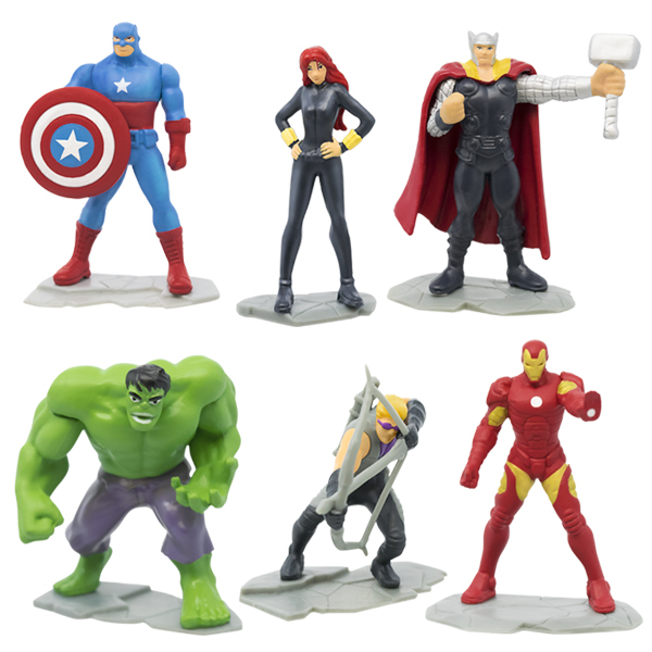 Disney Avengers - Oeufs surprises Figurines 4.5 cm à collectionner
