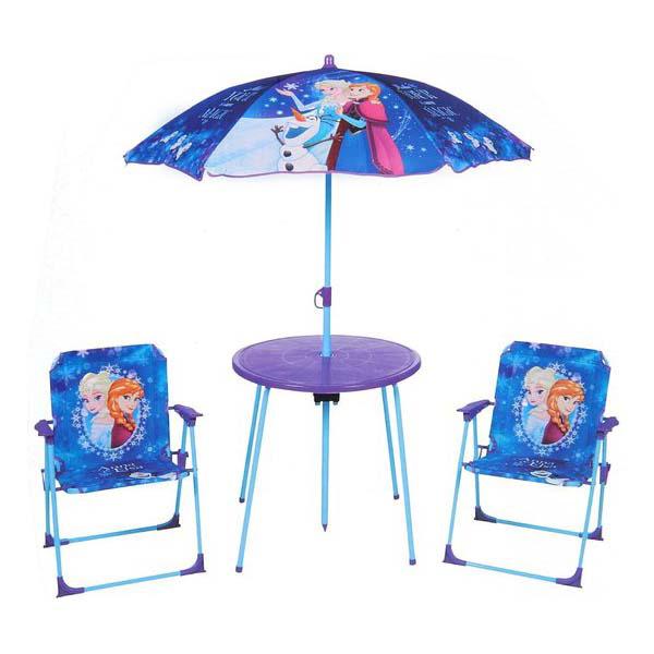 Table et chaise de jardin La Reine des Neiges Logitoys : King Jouet ...