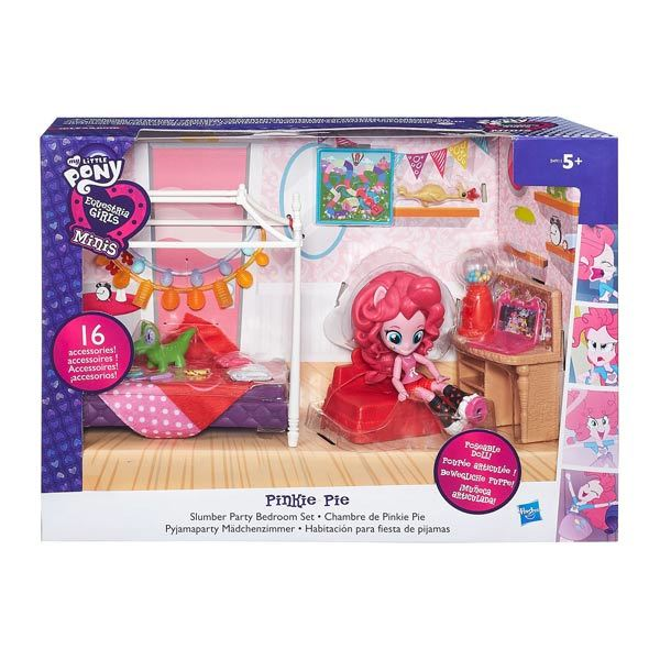 My Little Pony-chambre Pinkie Pie