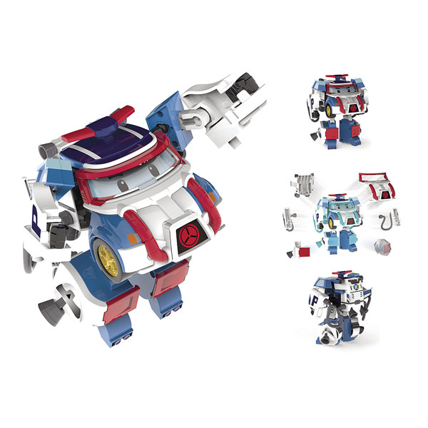 Robocar Poli-Véhicule transformable Poli Action Pack Space