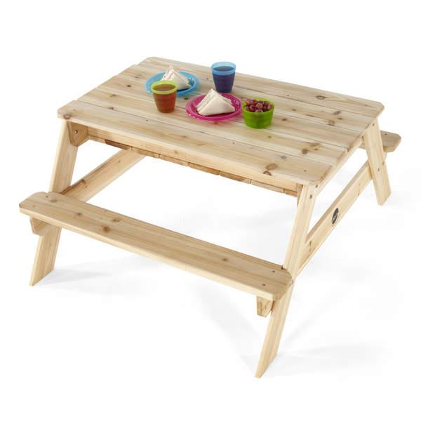 Table de jardin bac à sable Plum : King Jouet, bacs à sable Plum ...