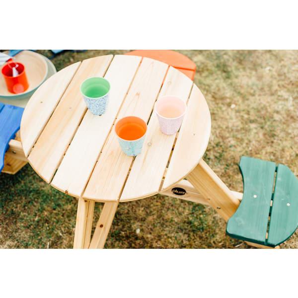 Table de Pic-Nique Ronde