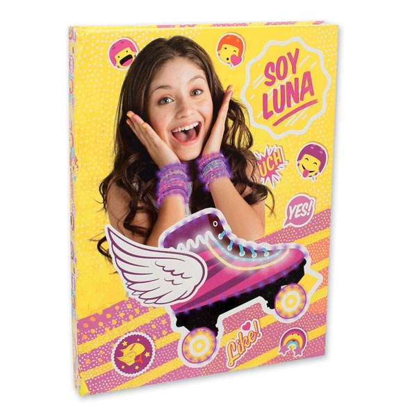 Papeterie Et Soy Luna JouetBagages Lumineux GiochiKing Journal vmN8n0w