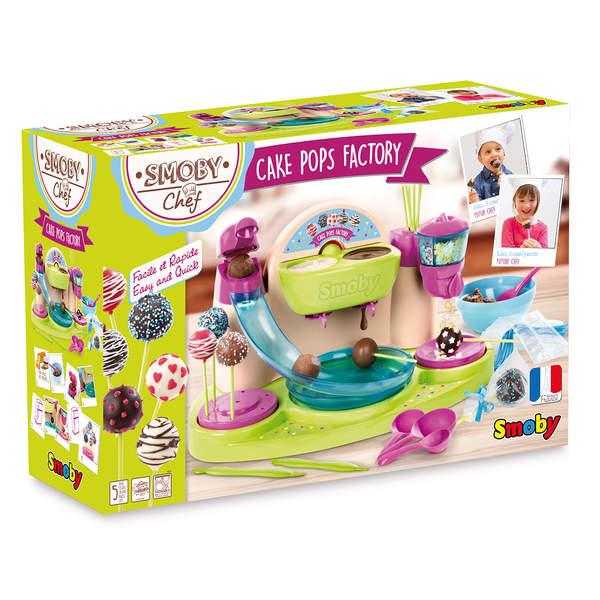 Chef cake pops factory - nombreuses fonctions