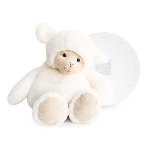 Peluche boulidoux-agneau grand modèle 35 cm