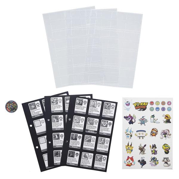 Yo-kai recharges de pages album collector