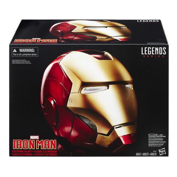 Casque électronique Iron Man Legend Gear Avengers