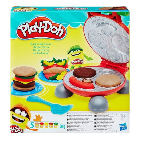 Play Doh Burger Party