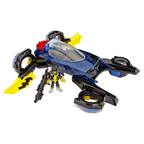 Batman-La Batmobile transformable