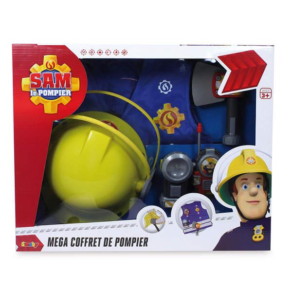 Sam le pompier kit pompier+casque