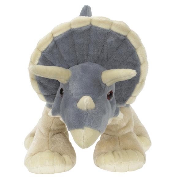 Peluche tricératops 30 cm