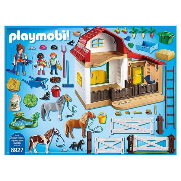 6927 - Playmobil Country - Poney club